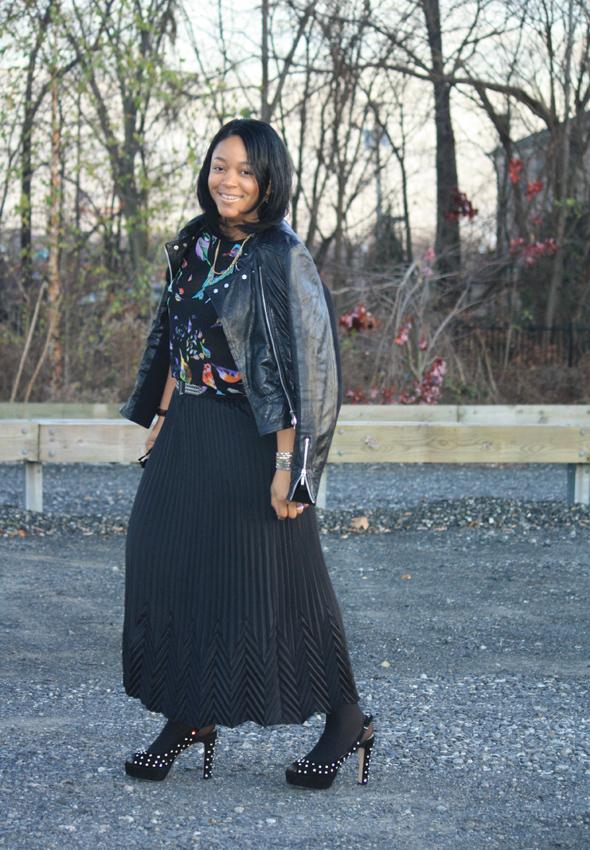 My Style Zara bird top Missoni Target skirt Zara crystal platforms jewelry 7