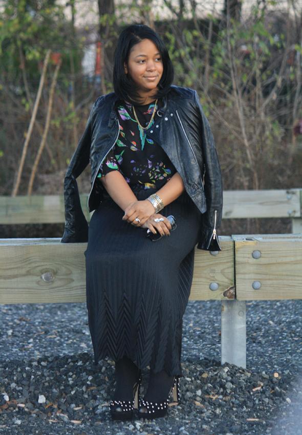 My Style Zara bird top Missoni Target skirt Zara crystal platforms jewelry 8