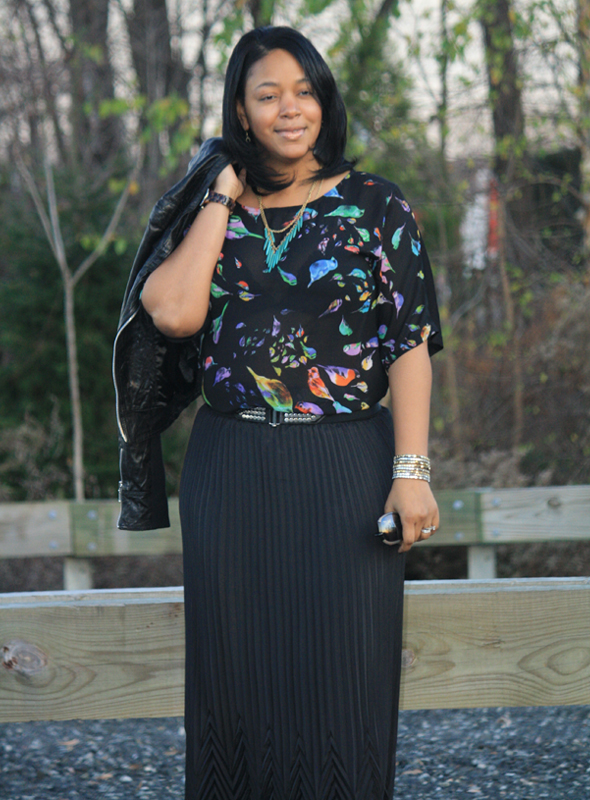 My Style Zara bird top Missoni Target skirt Zara crystal platforms jewelry 9