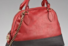 Olivia Harris Bowler-style Colorblock Bag - Day 11 of What's Haute's '20 Days of Holiday Gifts'