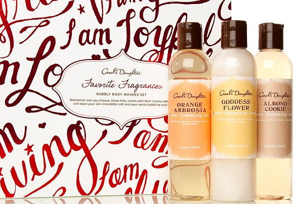 Carol's Daughter Favorite Fragrances Bubbly Body Washes Set