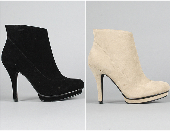 Messeca The-Indigo-Moon-Boots-in-Taupe and black