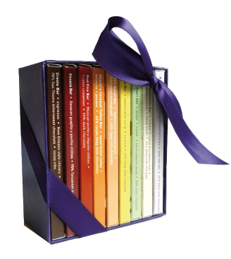 Vosges Haut Chocolat Mini Exotic Candy Bar Library