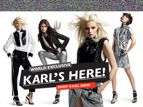 KARL by Karl Lagerfeld at Net-a-Porter