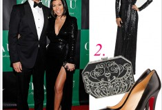 Get her haute look: Kourtney Kardashian's New Year's Eve style