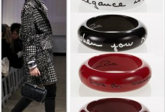 Haute baubles to buy: Oscar de la Renta Quote bangles