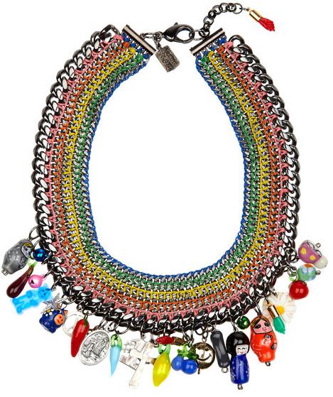Venessa Arizaga Baja Charm Necklace