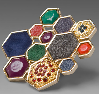 House of Harlow by Nicole Richie Mixed Media Large Cluster Ring