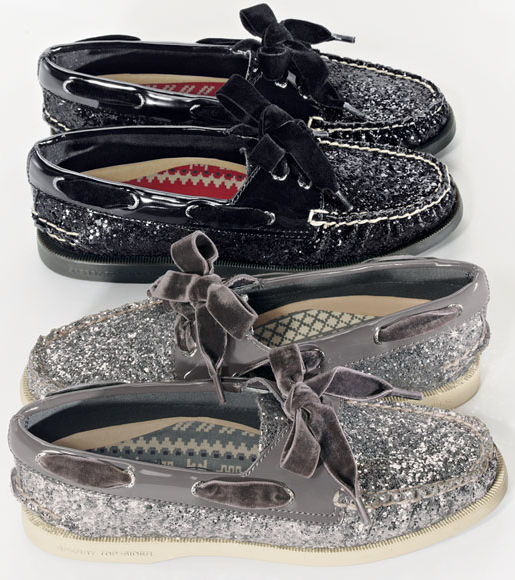 Sperry Top-Sider 'Authentic Original Glitter' Boat Shoe