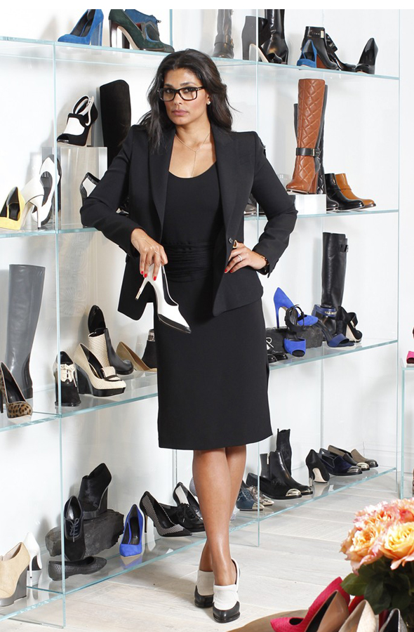 Rachel Roy Introducing New Designer Shoe Line