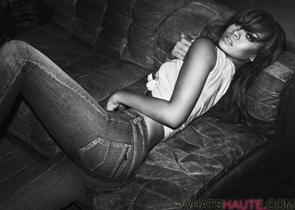 Rihanna for Emporio Armani Jeans - Spring/Summer 2012 campaign