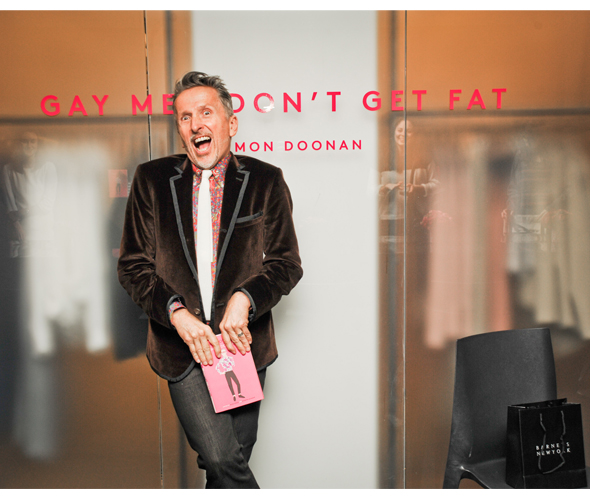 Simon Doonan 'Gay Men Don't Get Fat'