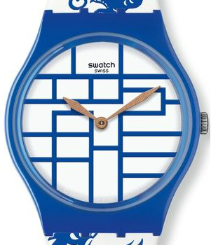Swatch Year of the Dragon watch - Chinese New Year - dial
