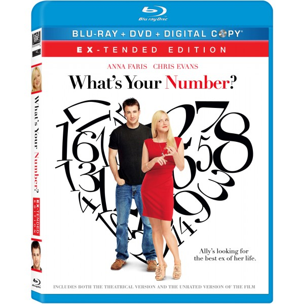 """""""What's Your Number?"""" DVD cover"""