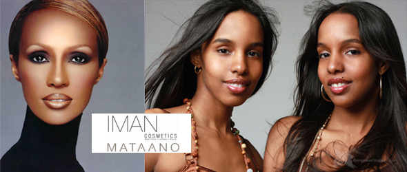 Iman cosmetics announced their next collaboration with Mataano - as the makeup & skincare line's new brand ambassadors