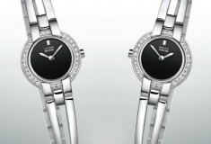 My style: Stylin' with the Citizen Eco-Drive Silhouette Crystal Bangle watch - perfect for Valentine's Day gifts!