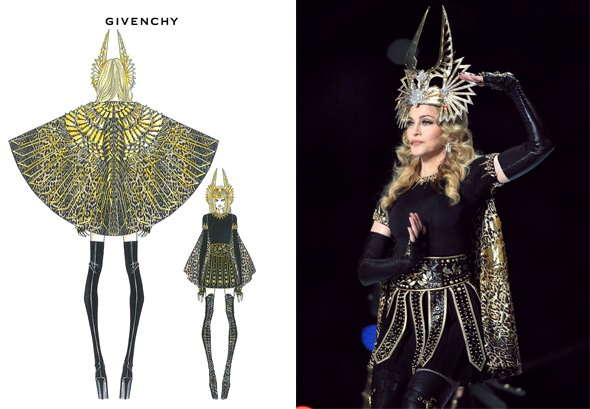 Madonna's-Super-Bowl-costumes-by-Givenchy