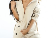 Nicole Scherzinger is the new face of London Fog's Spring 2012 ad campaign