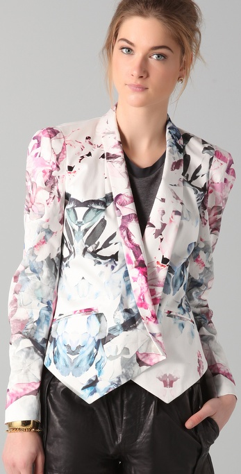Rebecca Minkoff Becky Jacket - floral print