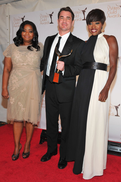 Viola Davis wore RAOUL to the 2012 Writers Guild Awards at the Hollywood Palladium last night in Los Angeles, California