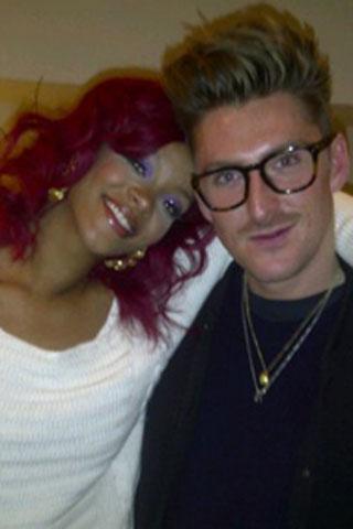 Henry Holland and Rihanna