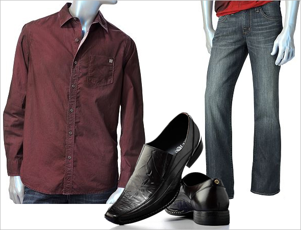 Kohl's Rock & Republic men's collection casual look