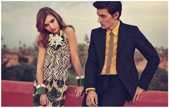 Marni for H&M - campaign image