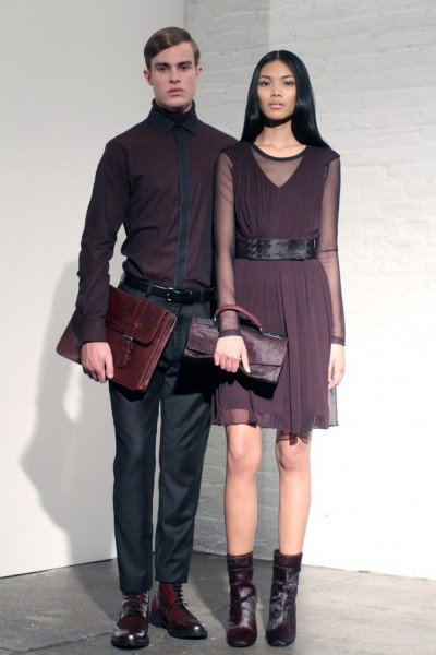 Men's and women's looks from the Kenneth Cole Collection