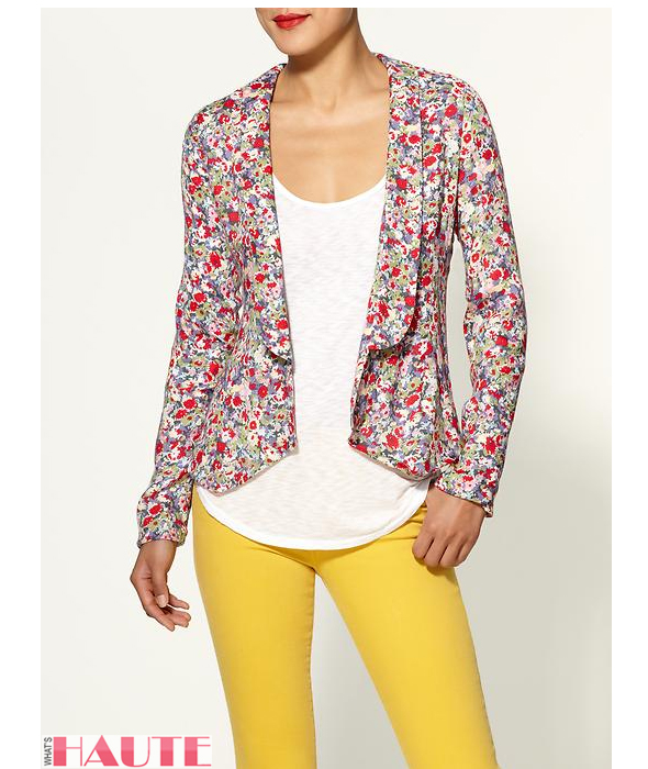 Pim + Larkin Floral Blazer - Fashion on What's Haute