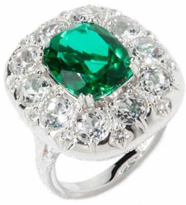 Ramona Singer Emerald Doublet Ring-jewelry