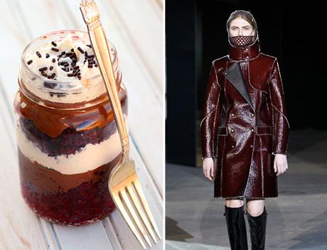 Red Velvet Nutella Cake in a Jar
