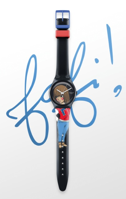 Swatch + Fafi watch