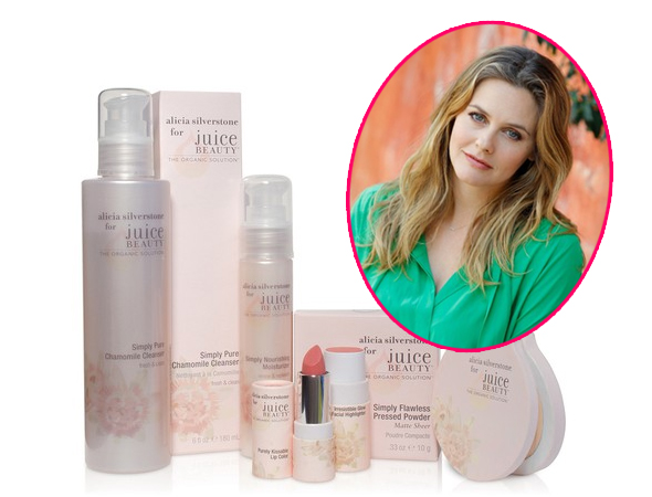 Alicia Silverstone Teams Up with Juice Beauty on Makeup, Skin Care