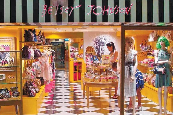 Betsey Johnson boutique - bankruptcy