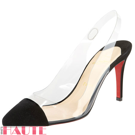Christian Louboutin Unbout Illusion Slingback pumps