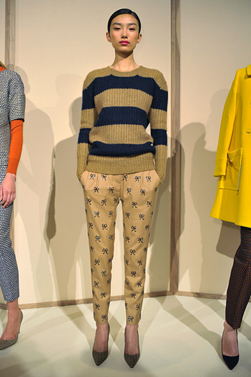 J Crew fall 2012 collection - Manolo Blahnik shoes