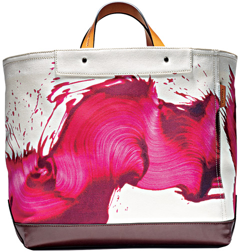 James Nares for Coach bag collection