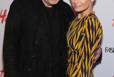 Nicole Richie and John Varvatos host