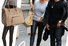 Get her haute look: Kim Kardashian in NYC wearing 194t, Celine and Christian Louboutin