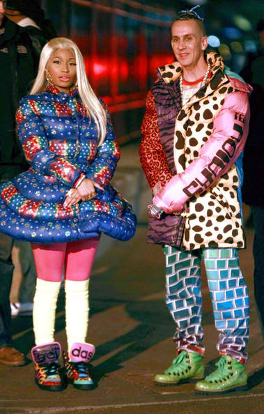 Nicki Minaj and Jeremy Scott for Adidas