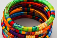 Haute buy: Rosena Sammi Jewelry Monsoon Striped Bangle Set