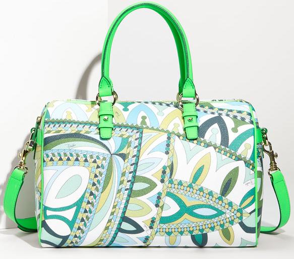Haute bag of the week: Emilio Pucci Print Satchel