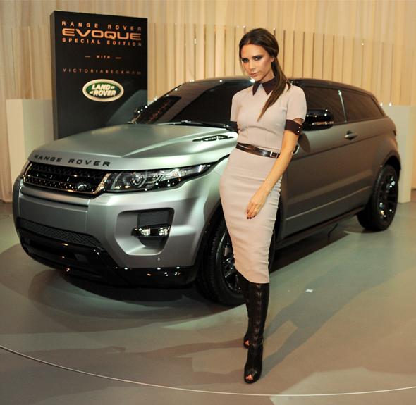 Victoria Beckham unveils bespoke Range Rover Evoque Special Edition in Beijing