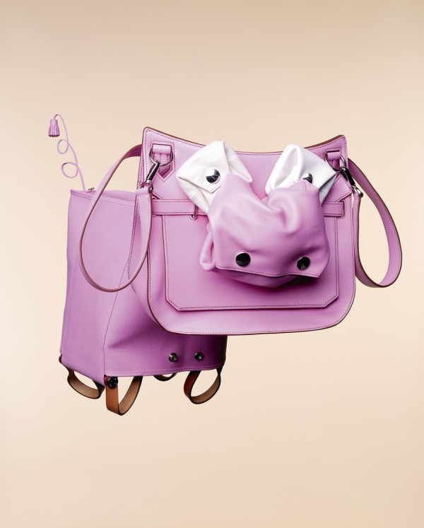 Hermes pink cow by Paul Graves