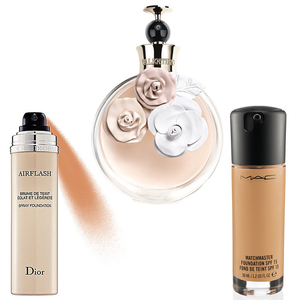 Diorskin-Airflash-Spray-Foundation-Valentina-Eau-de-Parfum-by-Valentino-M.A.C.-Matchmaster-Foundation