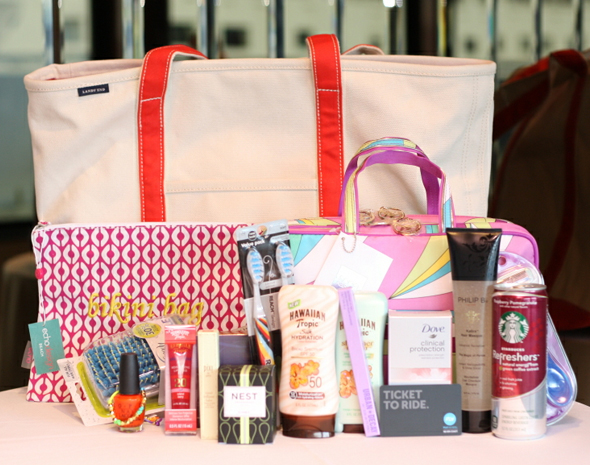 Hawaiian Tropic & Glam host 'Things We Love' Summer Sail - goody bag
