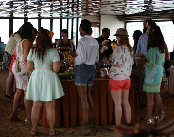 Hawaiian Tropic & Glam host 'Things We Love' Summer Sail - lunch