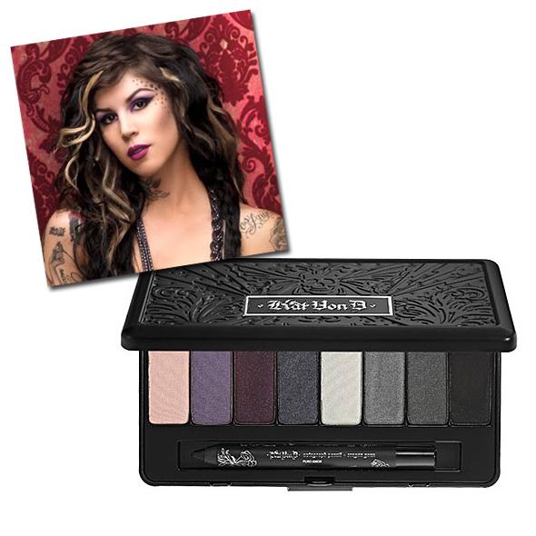Kat Von D True Romance Smokey Eyeshadow palette in Sinner