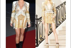 Celeb style: Kim Kardashian at Cannes, in the Balmain 2012 Resort dress that really gets around