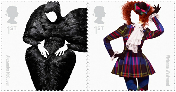 Royal Mail Stamp Collection - Alexander McQueen and Vivienne Westwood